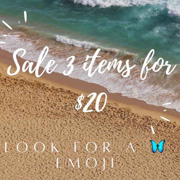 🦋Sale 3 items for $20🦋